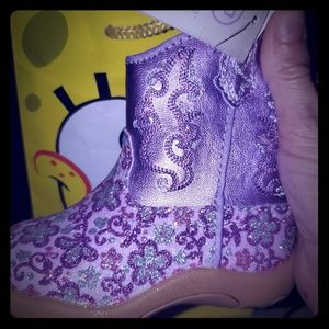 *BNWT Roper Cowbabies Sparkly Cowgirl Boots*